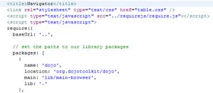 Fedafi com - Dojo Widget for in-browser editor CodeMirror